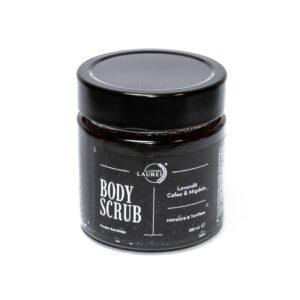 Body Scrub Natural – Lavandă, Cafea & Migdale